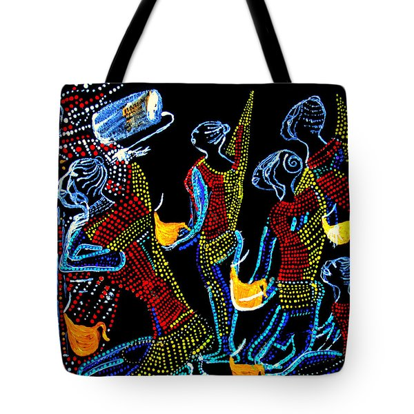 Dinka Wise Virgins Tote Bag by Gloria Ssali