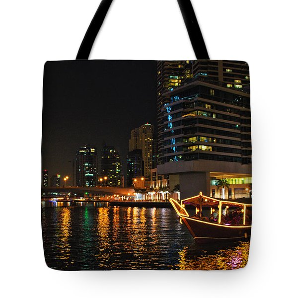 Dinner Cruise Dubai Tote Bag