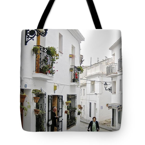 Dinner Delivery Tote Bag by Suzanne Oesterling