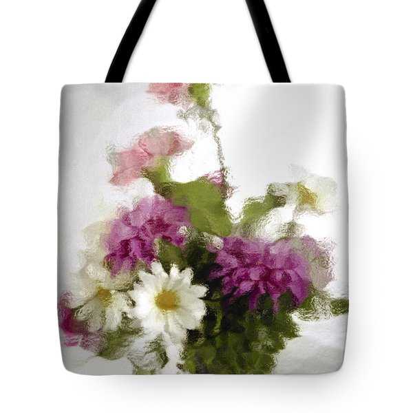 Tote Bag featuring the photograph Dinner For Two by Penny Lisowski