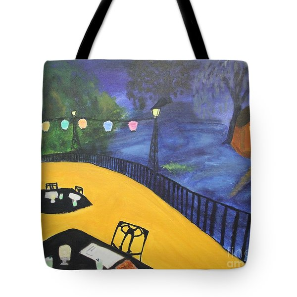 Dinner On The Bayou Tote Bag