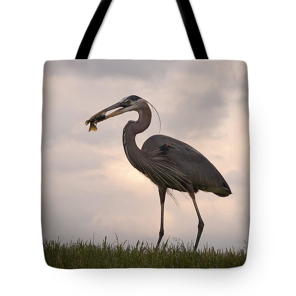 Tote Bag featuring the photograph Dinner Time by Terri Harper