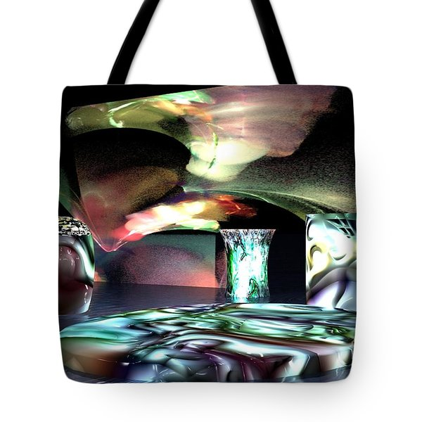Dinnerware Tote Bag