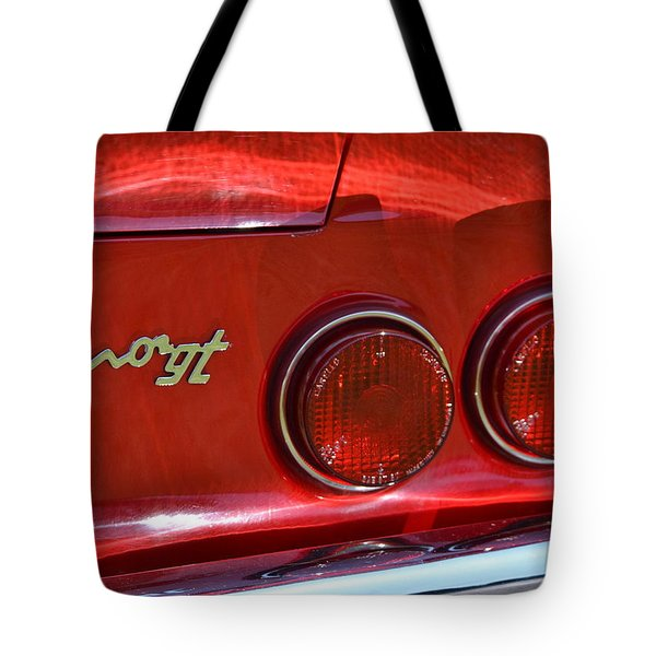 Tote Bag featuring the photograph Dino Gt by Dean Ferreira