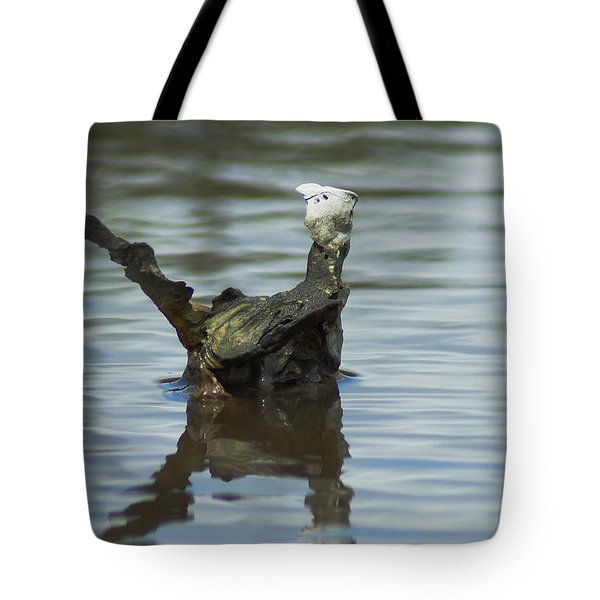 Dino Shell Tote Bag by Kim Pate