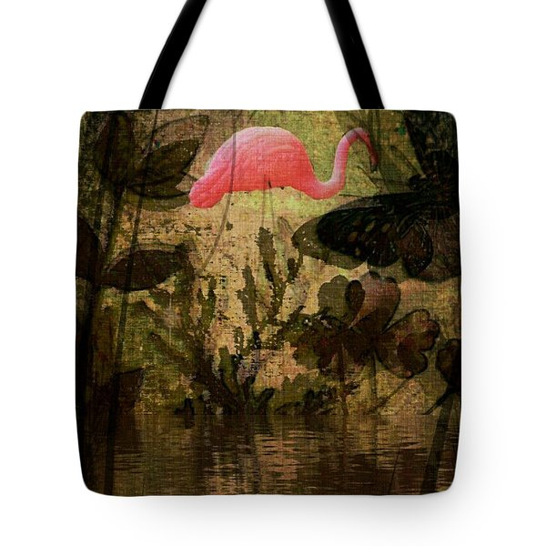 Tote Bag featuring the digital art Dinosaurs Among Us by Delight Worthyn