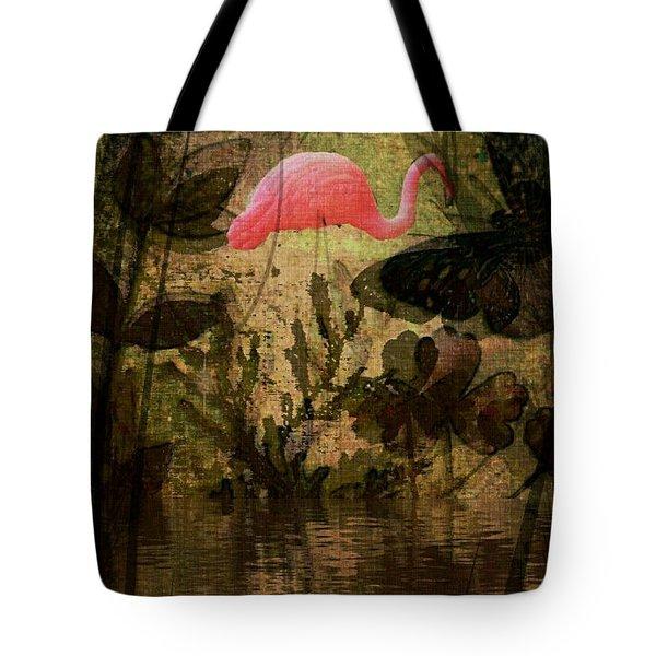 Dinosaurs Among Us Tote Bag