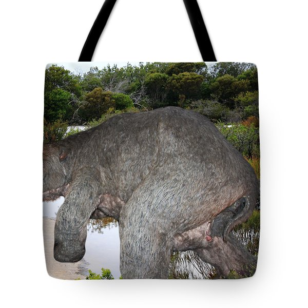 Tote Bag featuring the photograph Diprotodon by Miroslava Jurcik