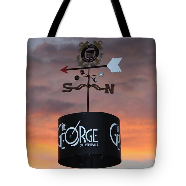 Tote Bag featuring the photograph Direction by Cynthia Guinn