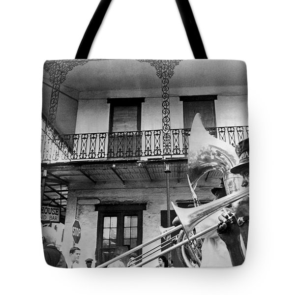 Dirge For Bourbon House Tote Bag