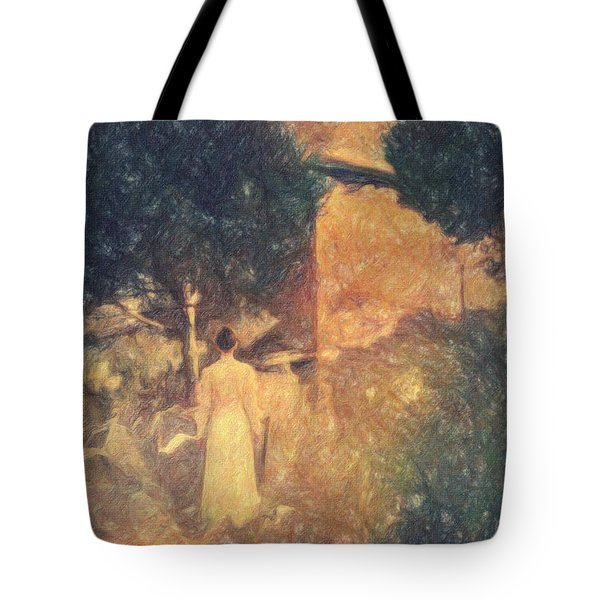 Dirge For November Tote Bag by Taylan Apukovska