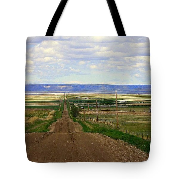 Dirt Road To Forever Tote Bag