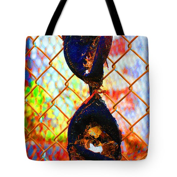 Tote Bag featuring the photograph Dirty Laundry by Christiane Hellner-OBrien