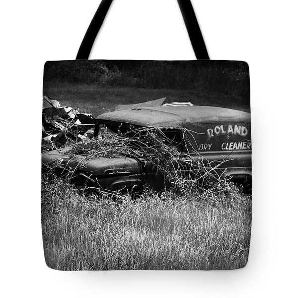 Tote Bag featuring the photograph Dirty Laundry by Rebecca Sherman
