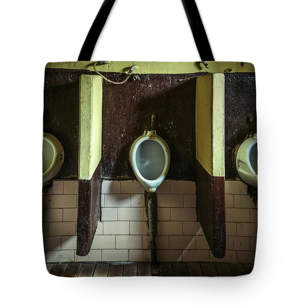 Dirty Urinals Tote Bag