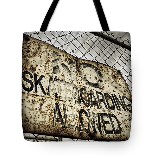 Disallowed Tote Bag by Caitlyn  Grasso