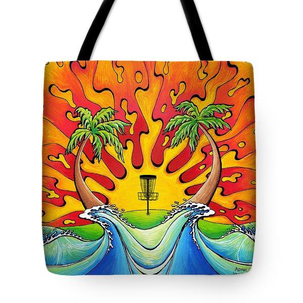 Disc Golfers Paradise Tote Bag