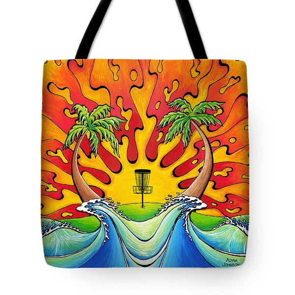 Disc Golfers Paradise Tote Bag