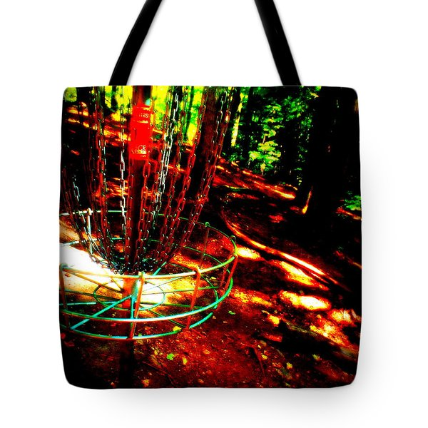 Discin Colors Tote Bag