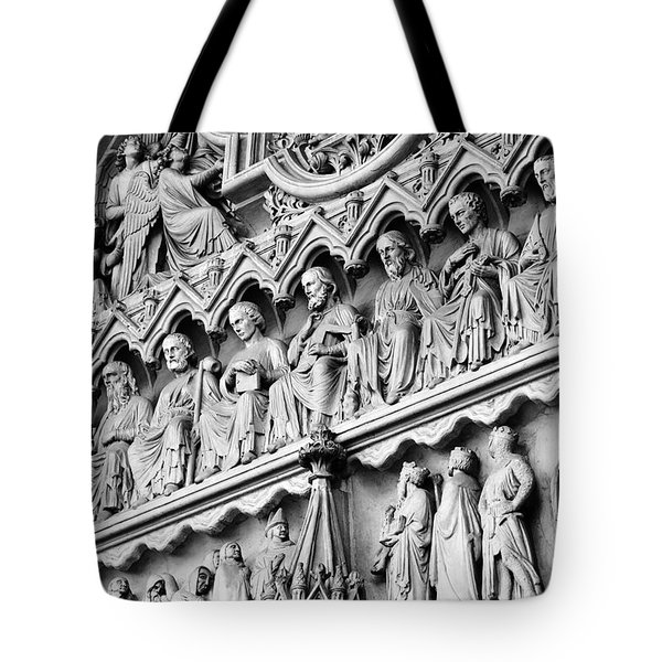 Disciples In Stone Tote Bag