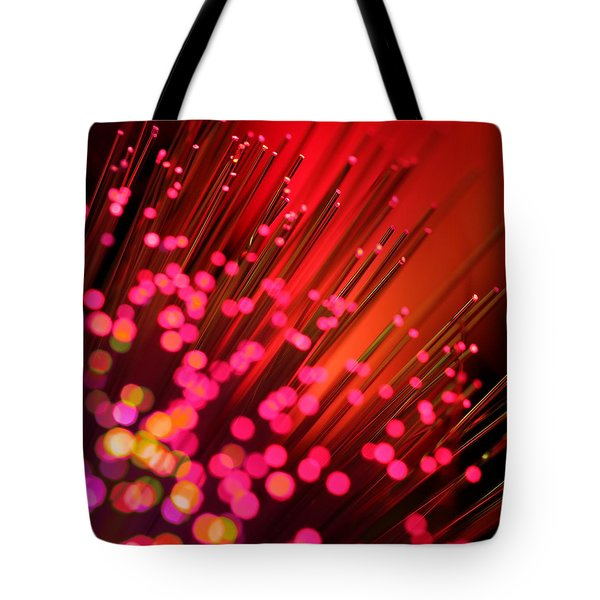 Disco Inferno Tote Bag by Dazzle Zazz