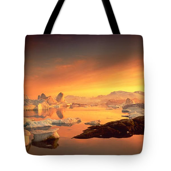 Disko Bay, Greenland Tote Bag