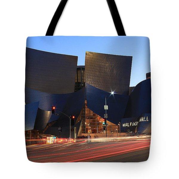Disney Concert Hall Tote Bag