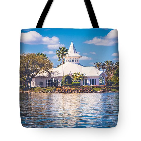 Disney's Wedding Pavilion Tote Bag