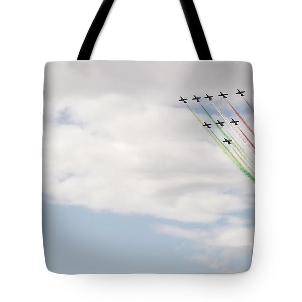 Displaying The Flag Tote Bag by Tracey Williams