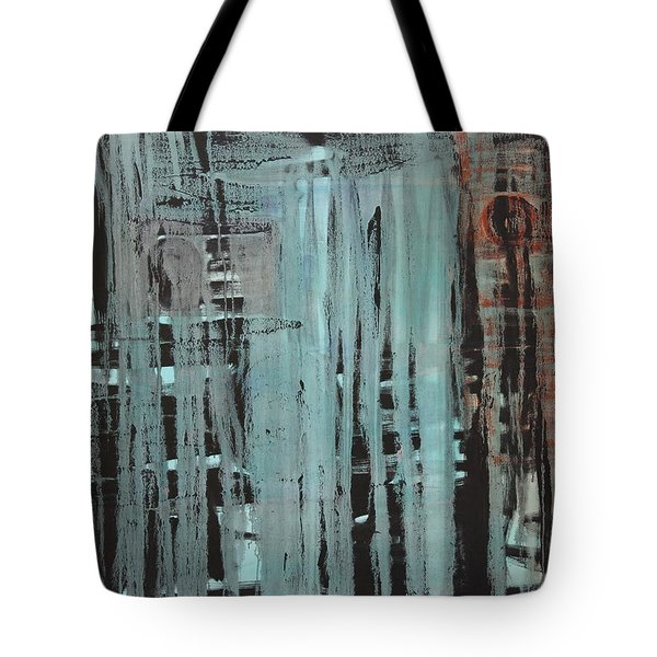 Tote Bag featuring the painting Dissolve C2011 by Paul Ashby
