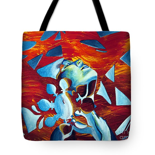 Dissonance Tote Bag