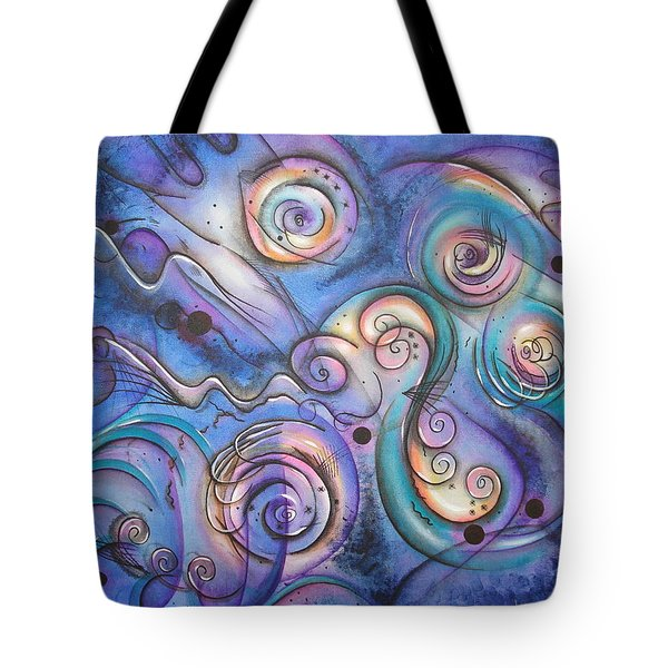 Distant Echoes Tote Bag