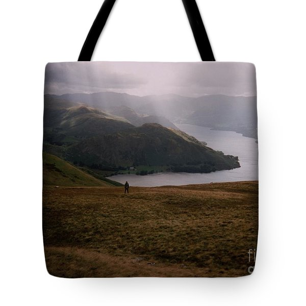 Distant Hills Cumbria Tote Bag by John Williams