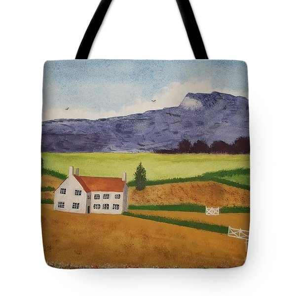 Distant Hills Tote Bag