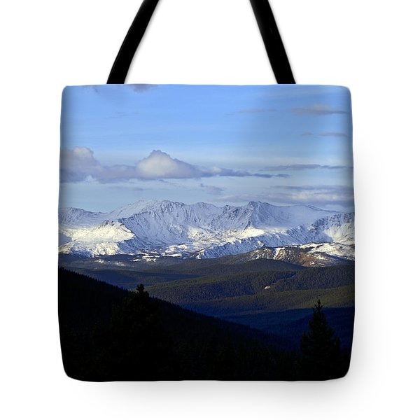 Distant Light Tote Bag by Jeremy Rhoades