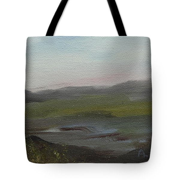 Distant Mist Tote Bag