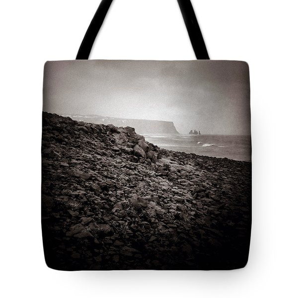 Distant Stacks Tote Bag