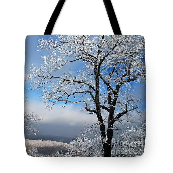 Distant Storms Tote Bag