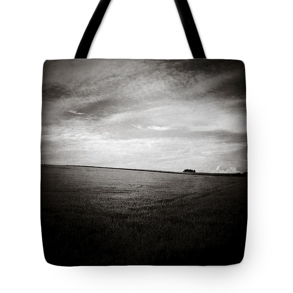 Distant Trees Tote Bag