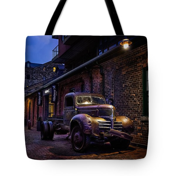 Distillery District Toronto Tote Bag