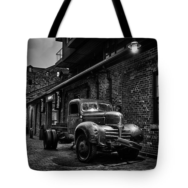 Distillery District Toronto Mono Tote Bag