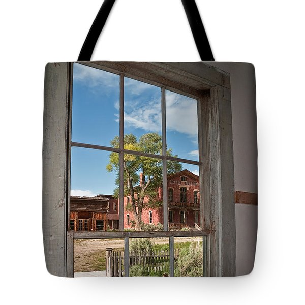 Through The Wavy Glass Tote Bag