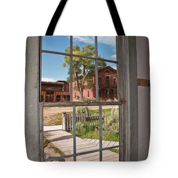 Tote Bag featuring the photograph Distorted View Of The World by Sue Smith