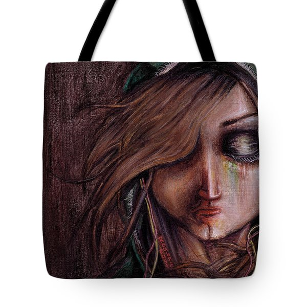 Disturbance Of The Pain-sensitive Structures In My Head Tote Bag by Rouble Rust