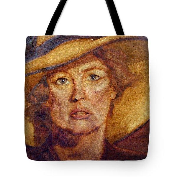 Diva Still Tote Bag