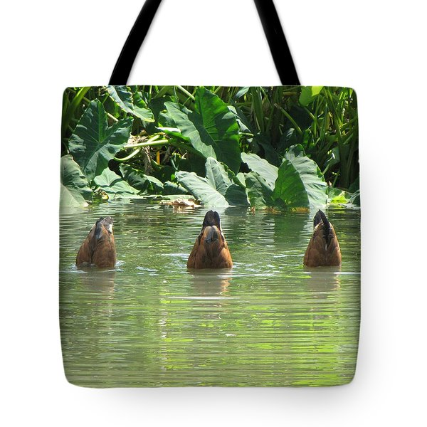 Tote Bag featuring the photograph Dive by Beth Vincent