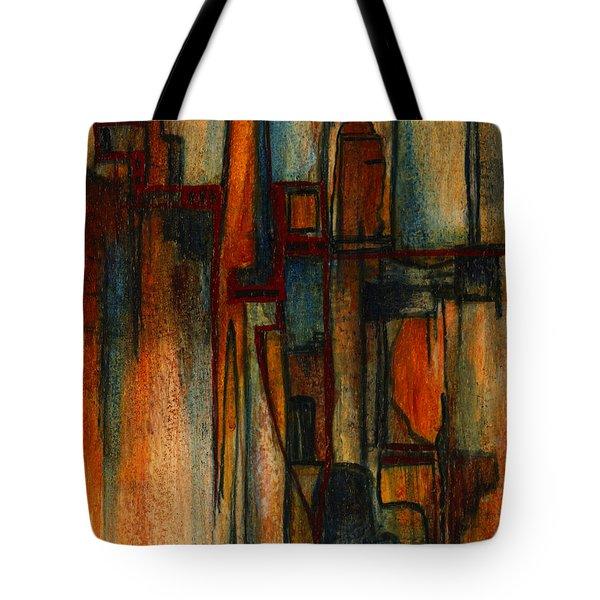 Divergence Tote Bag