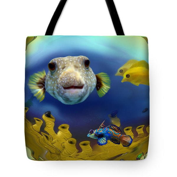 Diver's Perspective Tote Bag