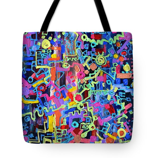 Divertissment Tote Bag