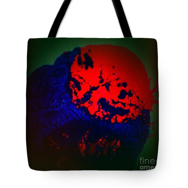 Tote Bag featuring the painting Divide by Jacqueline McReynolds